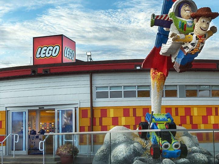 Loja da Lego na Disney Springs em Orlando