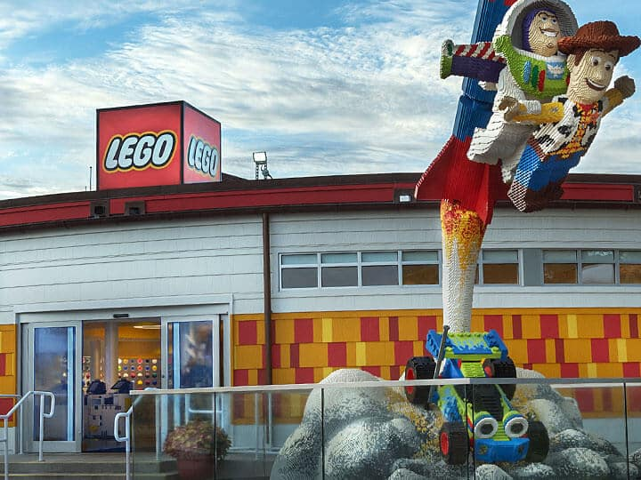 Lego Store na Disney Springs