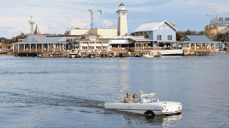 Passeio de carro-barco do The BoatHouse em Orlando