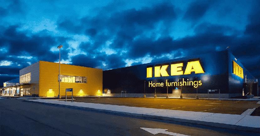 Frente da loja Ikea em Orlando