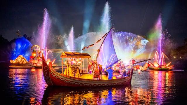 Show River of Light no Animal Kingdom em Orlando