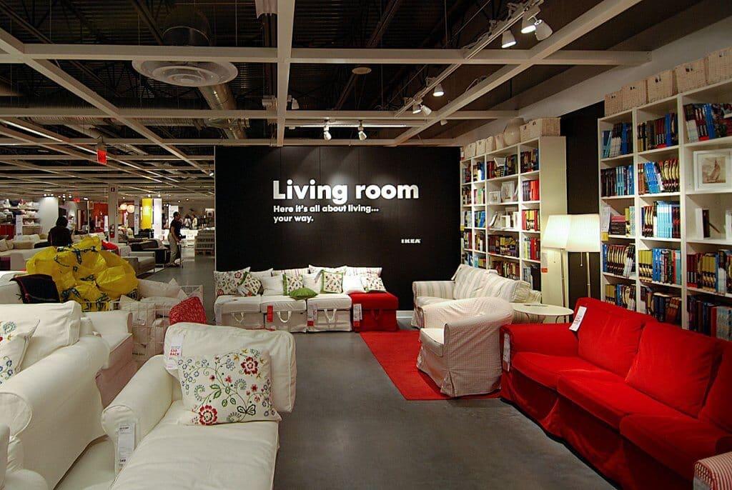 Interior da Loja Ikea em Orlando