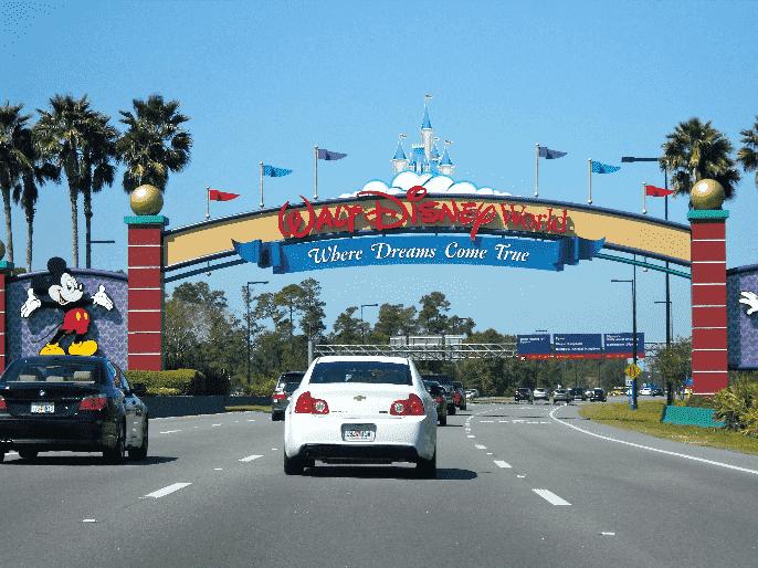 Carro na Disney