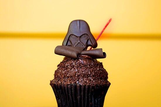 Cupcake de Star Wars