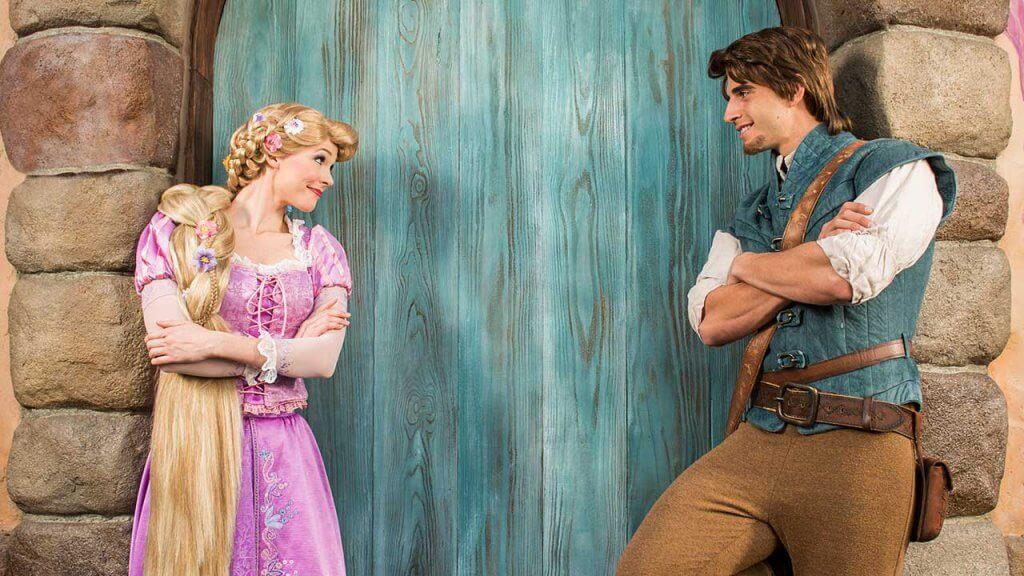 Personagens de Enrolados na Disney
