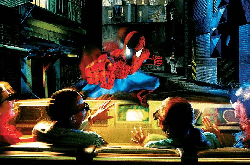 The Amazing Adventures of Spider-Man em Orlando