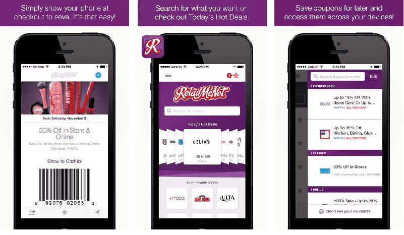 App de cupons de desconto em Orlando