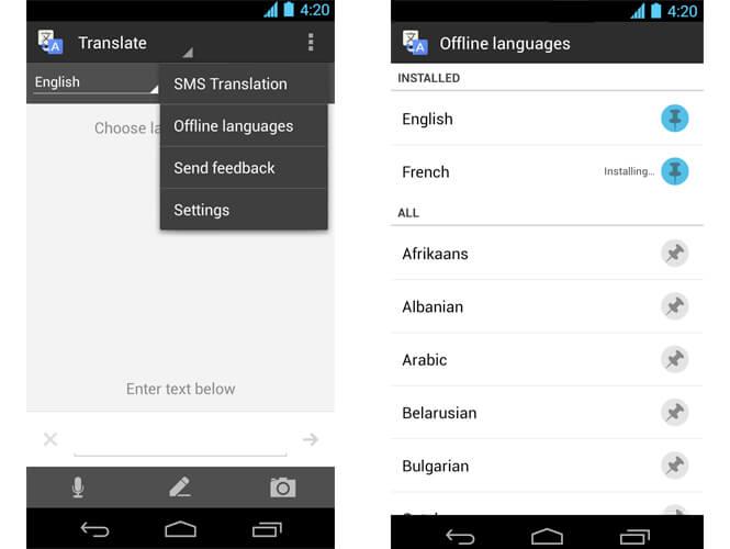 App Google Tradutor em Orlando