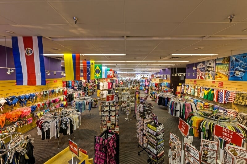 Lojas de souvenirs e lembrancinhas em Orlando e Miami