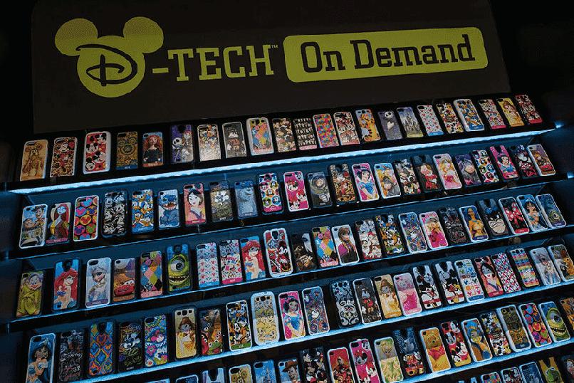 Loja Tech on Demand na Disney Springs em Orlando