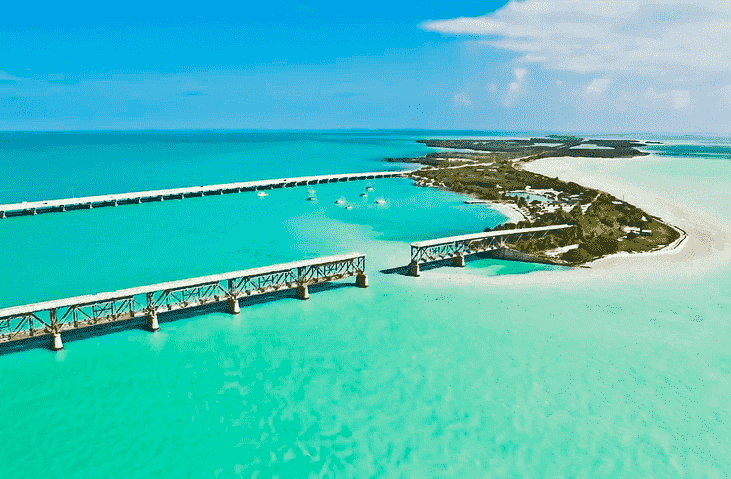 Bahia Honda State Park em Miami