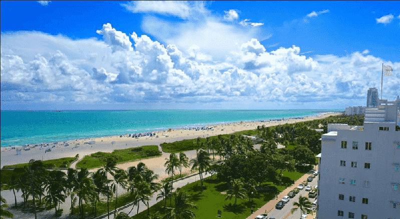 South Beach e Lummus Park em Miami