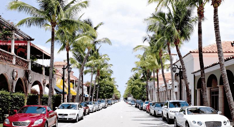 Worth Avenue em Palm Beach