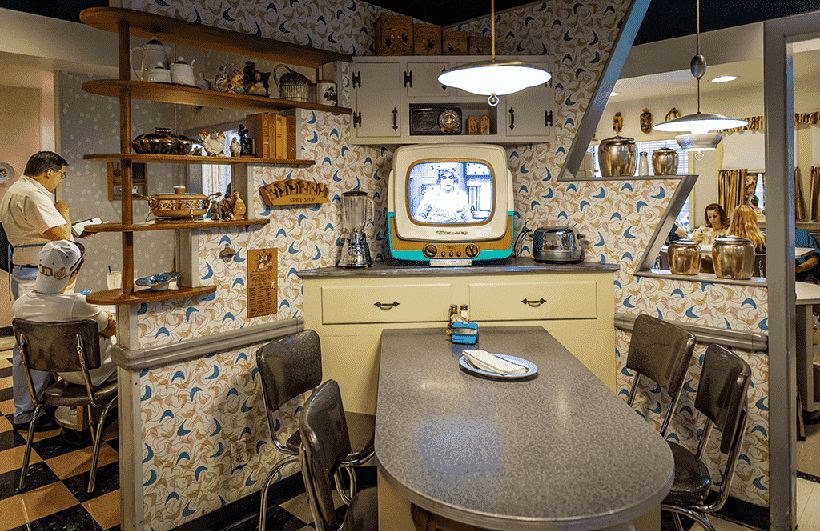 Restaurante 50´s Café Prime Time no Hollywood Studios em Orlando