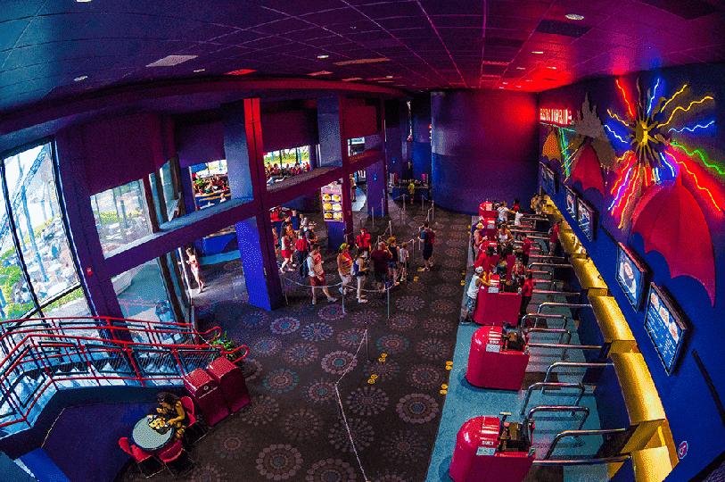 Restaurante Electric Umbrella Restaurant na Disney em Orlando