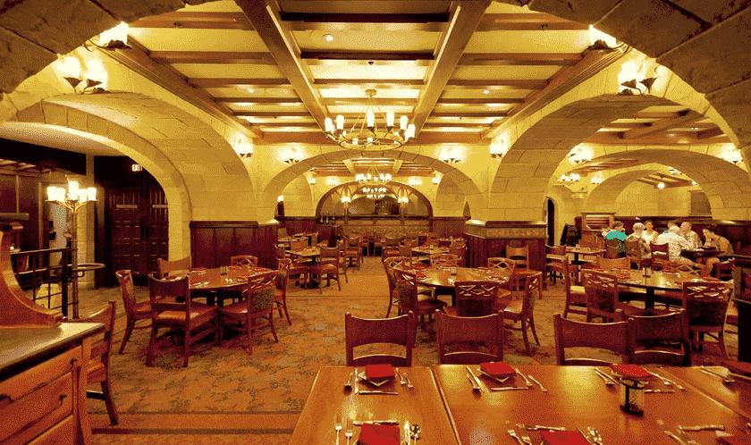Restaurante Le Cellier Steakhouse no Epcot na Disney em Orlando