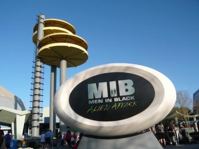 Men In Black na Universal Studios em Orlando