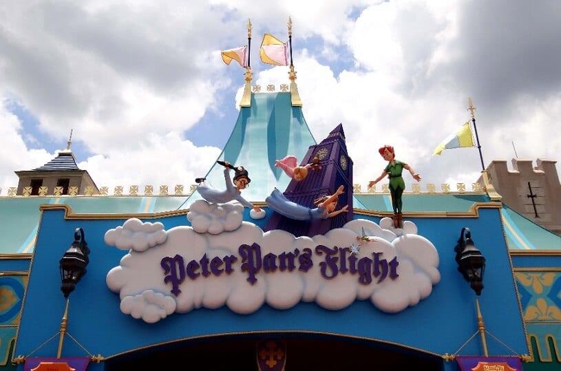 Peter Pan's Flight no Magic Kingdom na Disney em Orlando