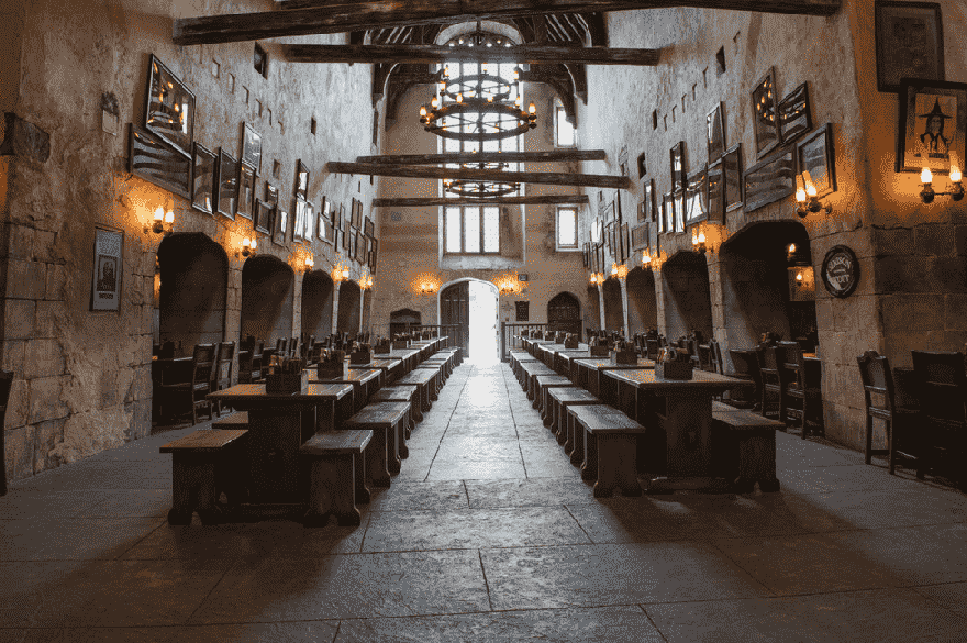 Leaky Cauldron: Restaurantes no The Wizarding World of Harry Potter™ – Diagon Alley™ no Universal Studios em Orlando