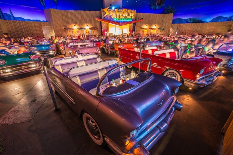 Restaurantes no Hollywood Studios em Orlando: Sci-Fi Dine In