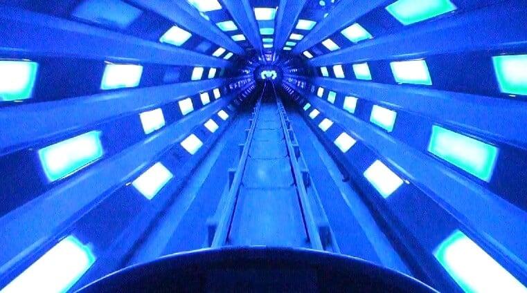 Space Mountain no Magic Kingdom na Disney em Orlando
