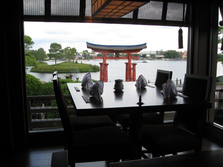 Restaurante Tokyo Dining na Disney em Orlando