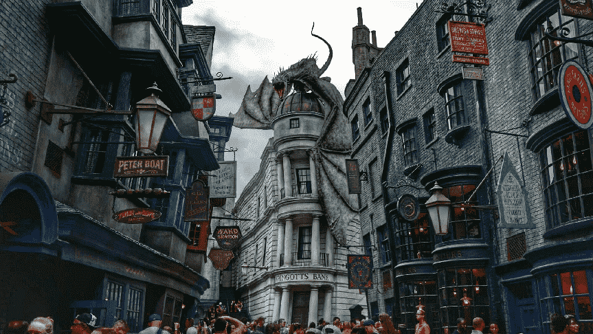Restaurantes no Universal Studios em Orlando - Área do Harry Potter