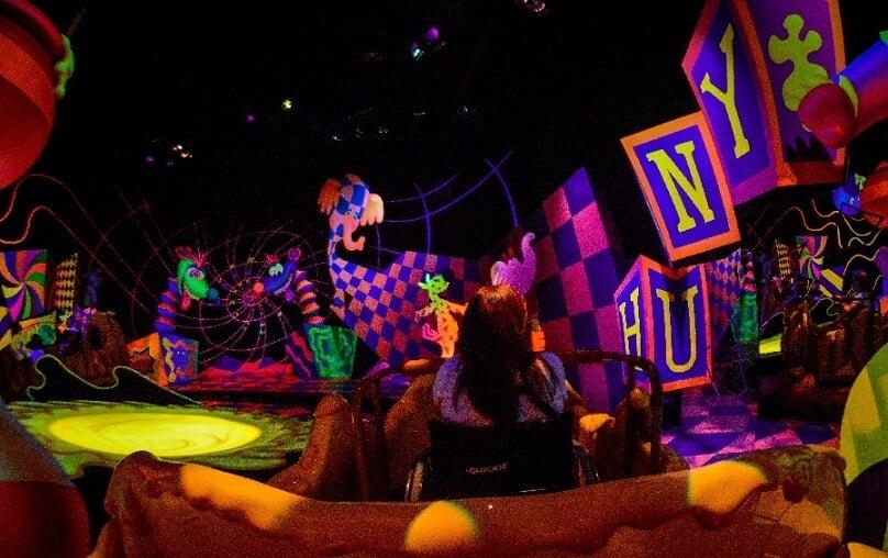 Brinquedo do Ursinho Pooh no Magic Kingdom em Orlando