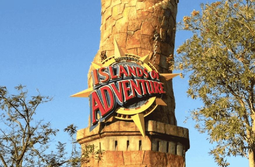 10 brinquedos mais suaves no Islands of Adventure em Orlando