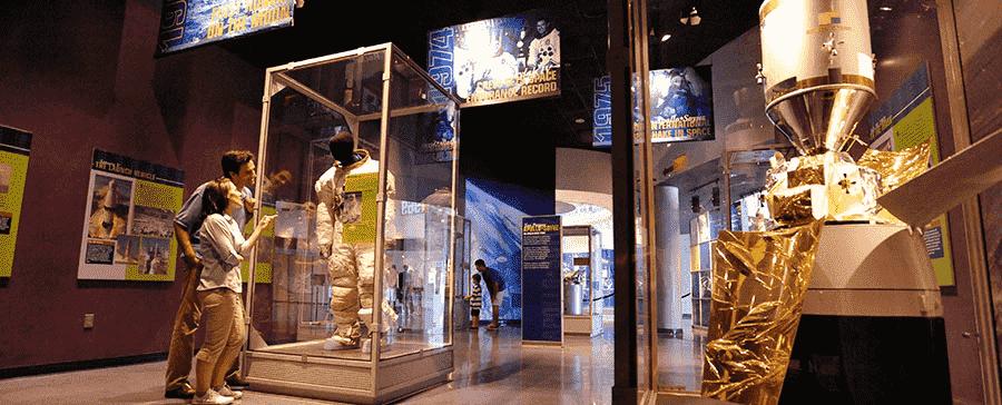 Exposição do Centro espacial da NASA em Orlando: Parque Kennedy Space Center
