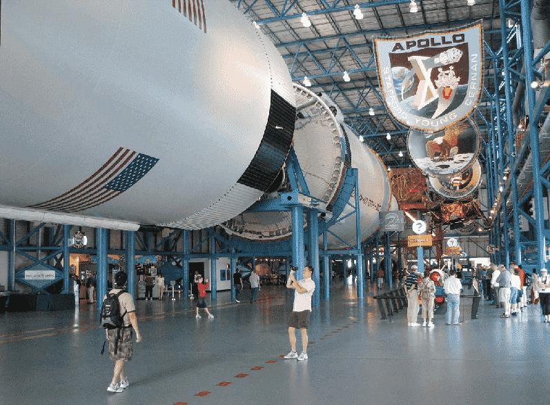 Apollo/Saturn V Center no Kennedy Space Center em Orlando