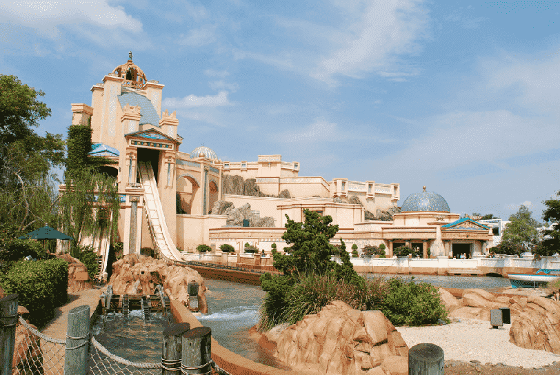 Journey to Atlantis no Sea World em Orlando