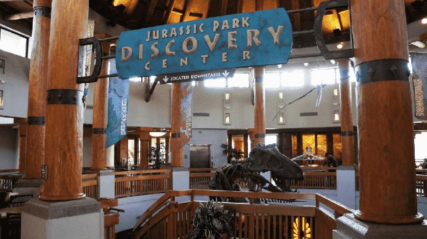 Jurassic Park Discovery Center no Islands of Adventure em Orlando
