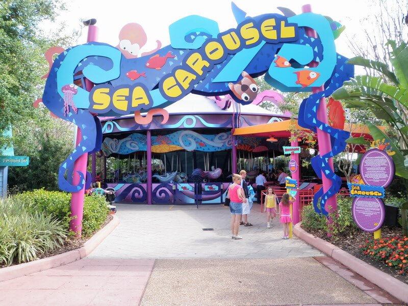 Sea Carousel no Sea World em Orlando