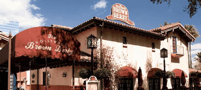 Restaurante Hollywood Brown Derby na Disney em Orlando