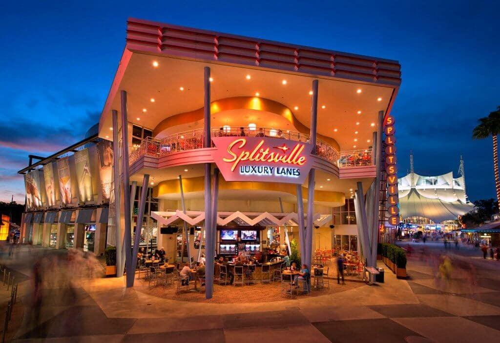 Boliche Splitsville Luxury Lane em Orlando