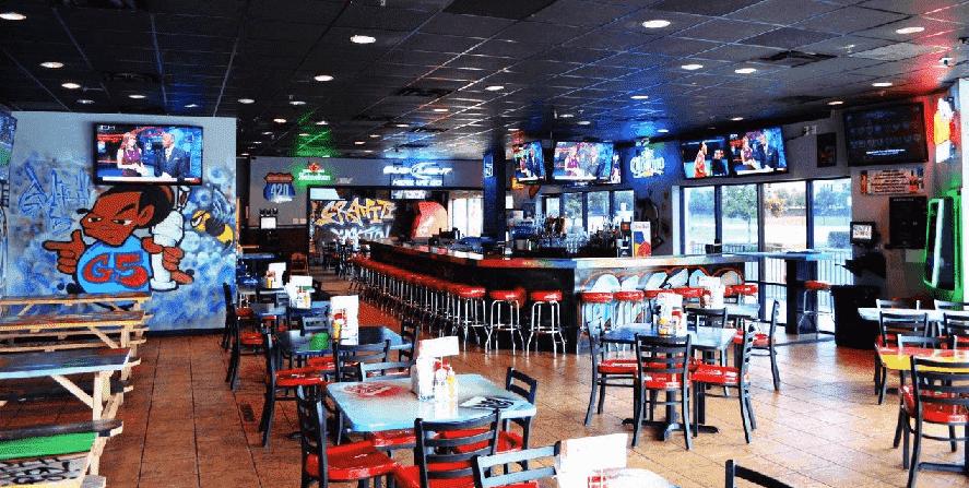Graffiti Junktion American Burger bar em Downtown Orlando