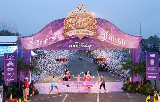 Corrida da Disney para as princesas