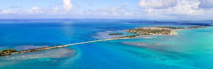 Ilhas Florida Keys em Miami