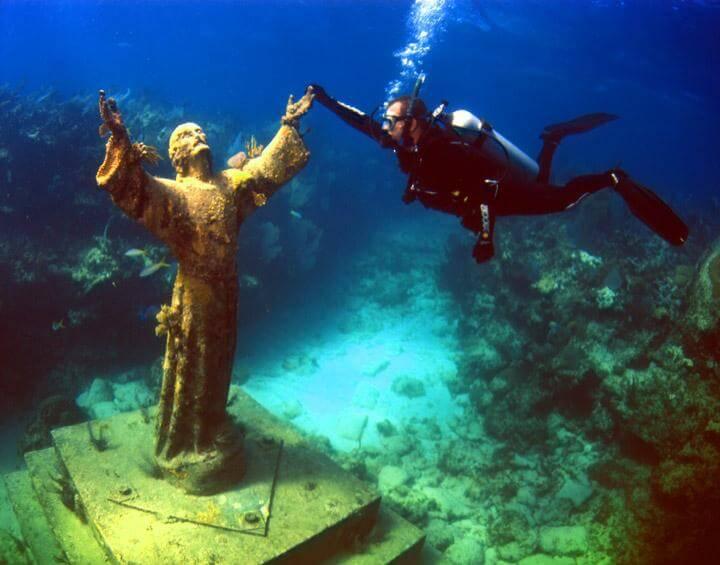 John Pennekamp Coral Reef State Park nas ilhas Keys