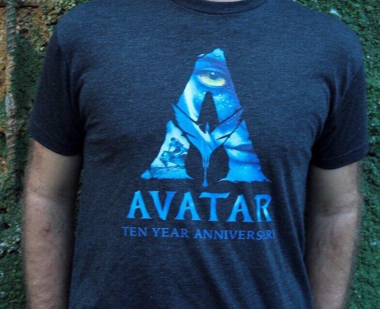 Camiseta Avatar na Disney em Orlando