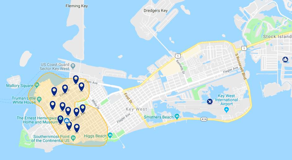 Onde ficar em Key West: melhores hotéis