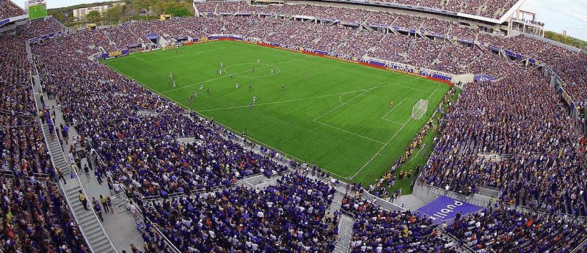 Arena e estádio Orlando City Soccer - Futebol