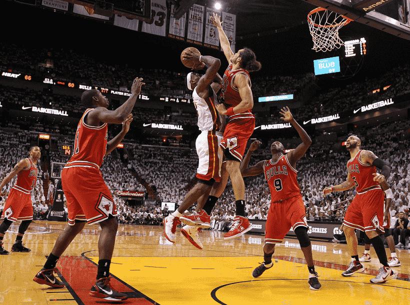 Jogo do Miami Heat e NBA
