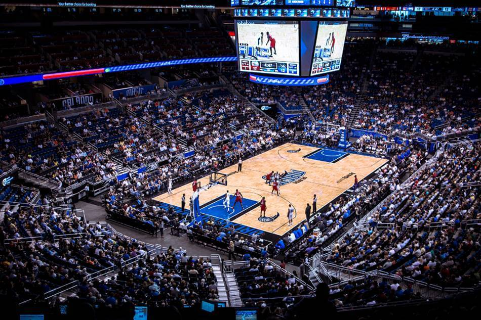 Jogo da NBA do Orlando Magic