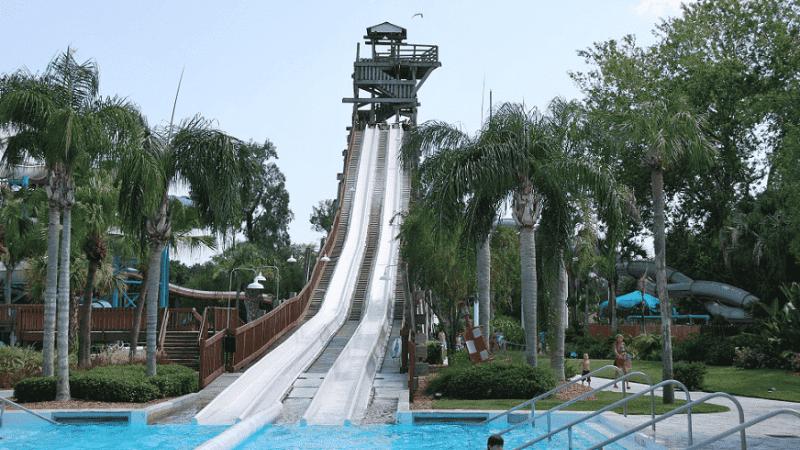 Parque Adventure Island em Tampa