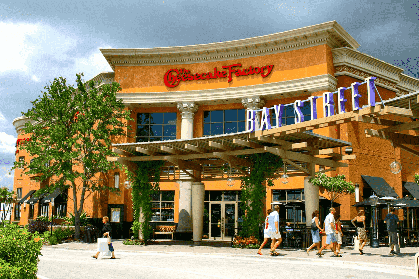 Shopping International Plaza and Bay Street em Tampa