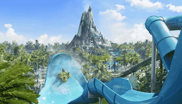 Parque aquático Volcano Bay da Universal em Orlando