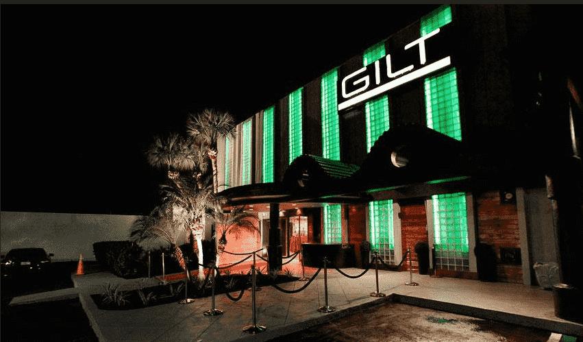 Entrada da balada Gilt em Orlando