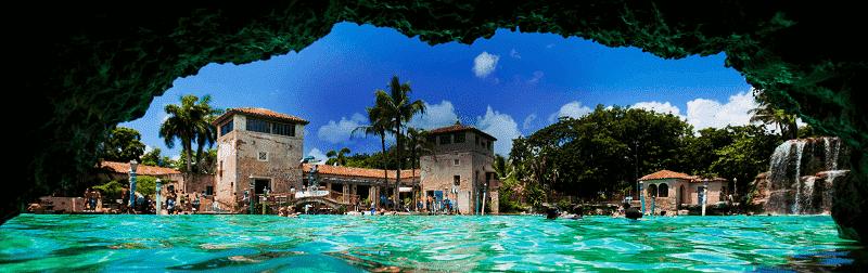 Venetian Pool em Miami: A maior piscina artificial da Flórida